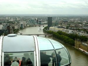 Riding the London Eye 6